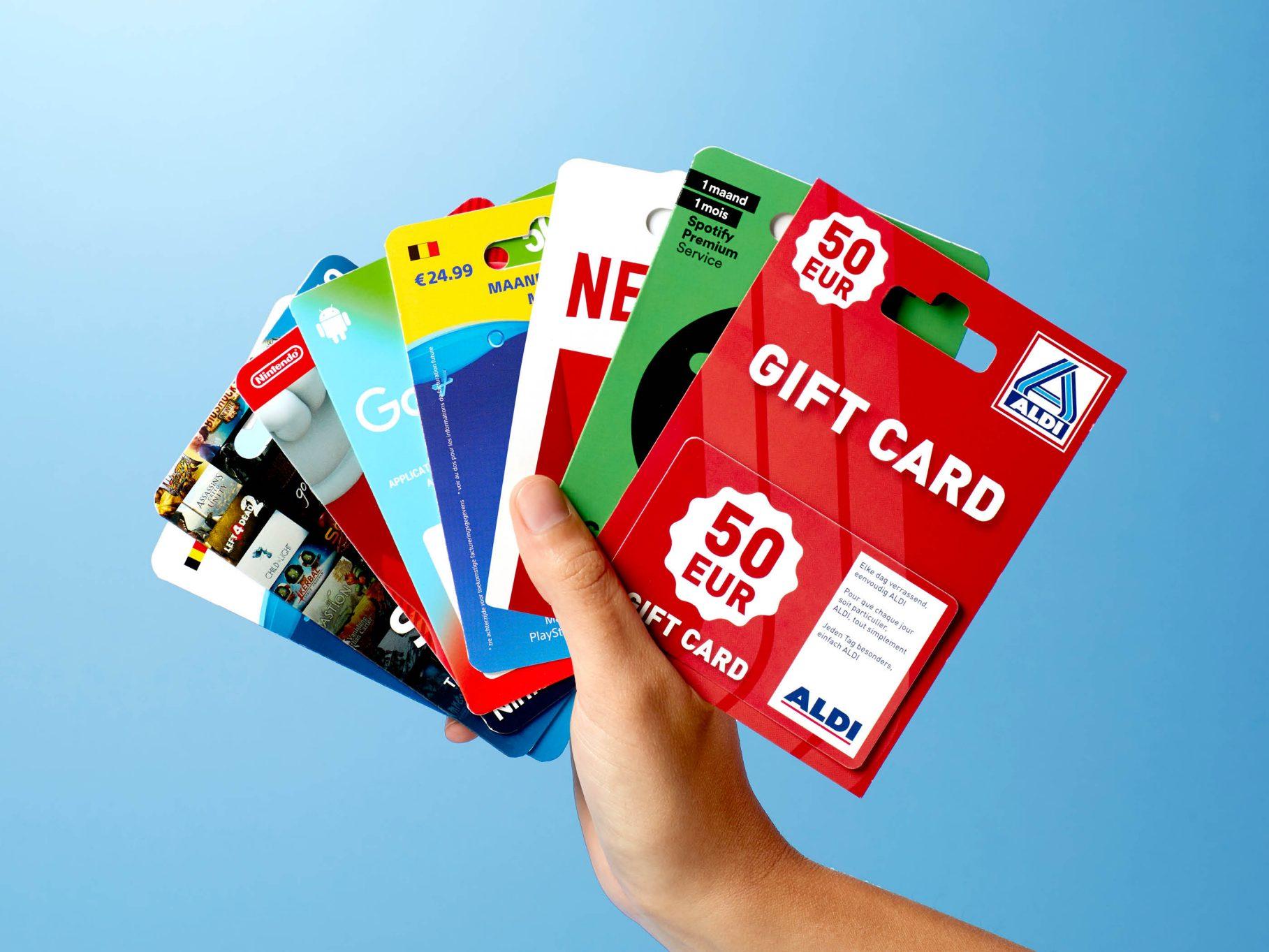 E-cartes Cadeaux