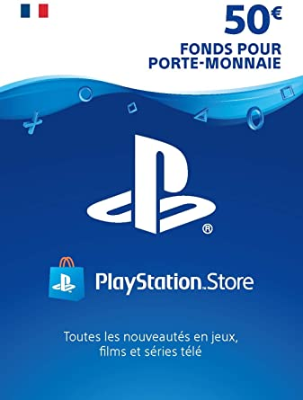 Carte PlayStation Store 50€